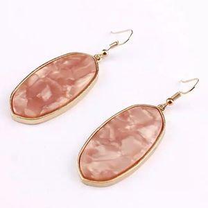 Zoe Pink Drop Earrings